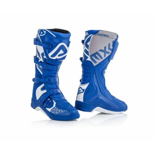 Мотоботы кроссовые Acerbis X-TEAM BLUE/WHITE