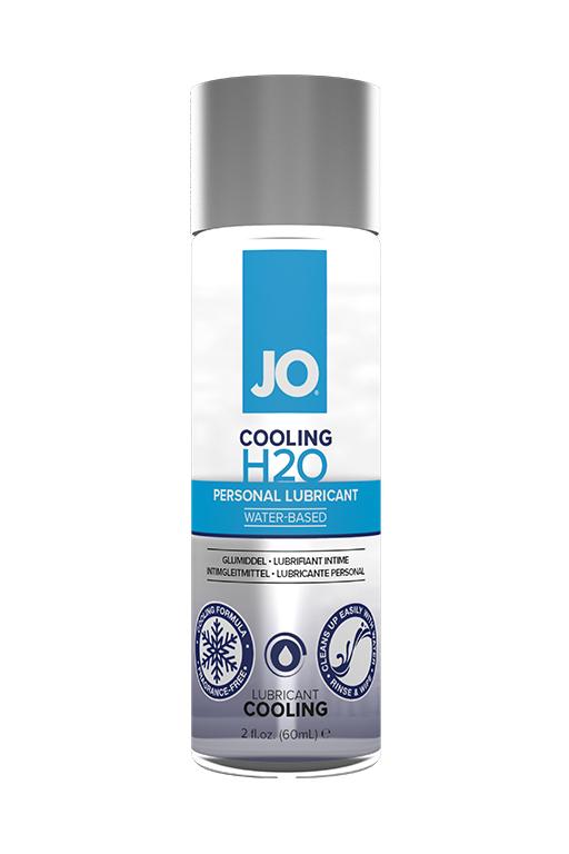 Классический охлаждающий лубрикант на водной основе / JO H2O Cooling 2oz - 60 мл.