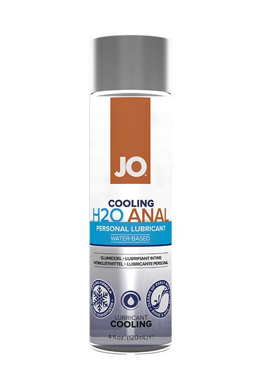Анальный охлаждающий лубрикант на водной основе / JO Anal H2O Cooling 4oz - 120 мл.