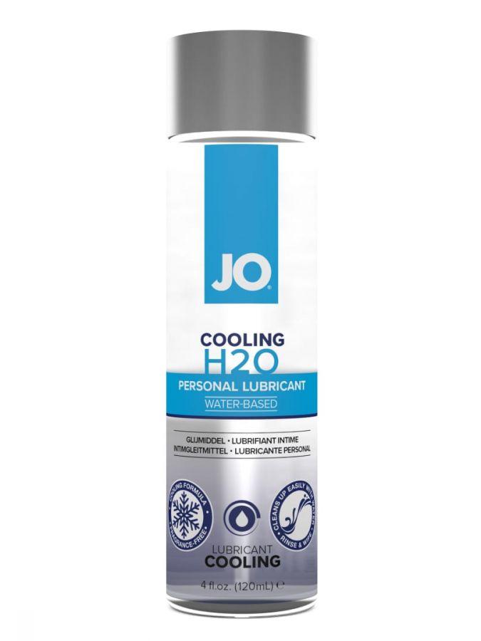Классический охлаждающий лубрикант на водной основе / JO H2O Cooling 4 oz - 120мл.