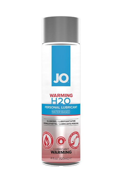 Классический согревающий лубрикант на водной основе / JO H2O Warming 4 oz - 120мл.