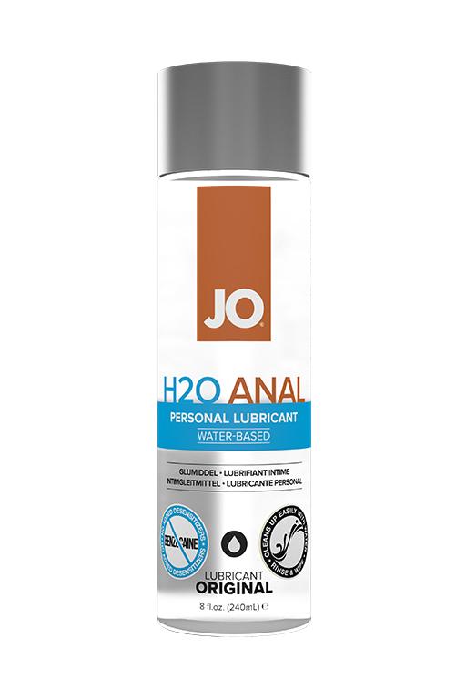 Анальный лубрикант на водной основе / JO H2O Anal 8oz - 240 мл.
