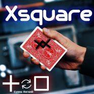 Карточный гиммик Xsquare (движение чернил)