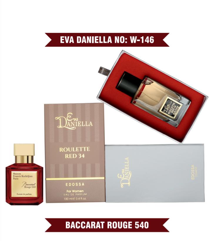 Eva Daniella № W-146 (Francis Kurkdjian Baccarat Rouge 540 Extrait de Parfum) 100 мл - ПОДАРОЧНАЯ УПАКОВКА