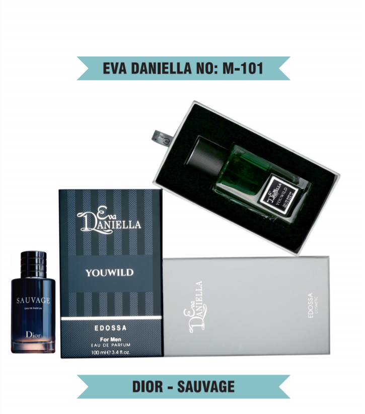 Eva Daniella № M-101 (Christian Dior Sauvage) 100 мл - ПОДАРОЧНАЯ УПАКОВКА
