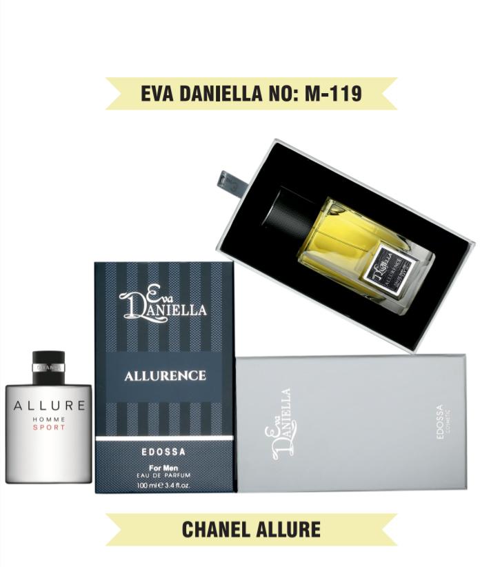 Eva Daniella № M-119 (Chanel Allure Homme Sport) 100 мл - ПОДАРОЧНАЯ УПАКОВКА