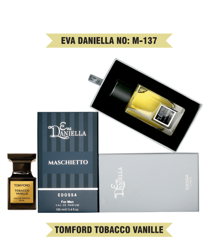 Eva Daniella № M-137 (Tom Ford Tobacco Vanille) 100 мл - ПОДАРОЧНАЯ УПАКОВКА