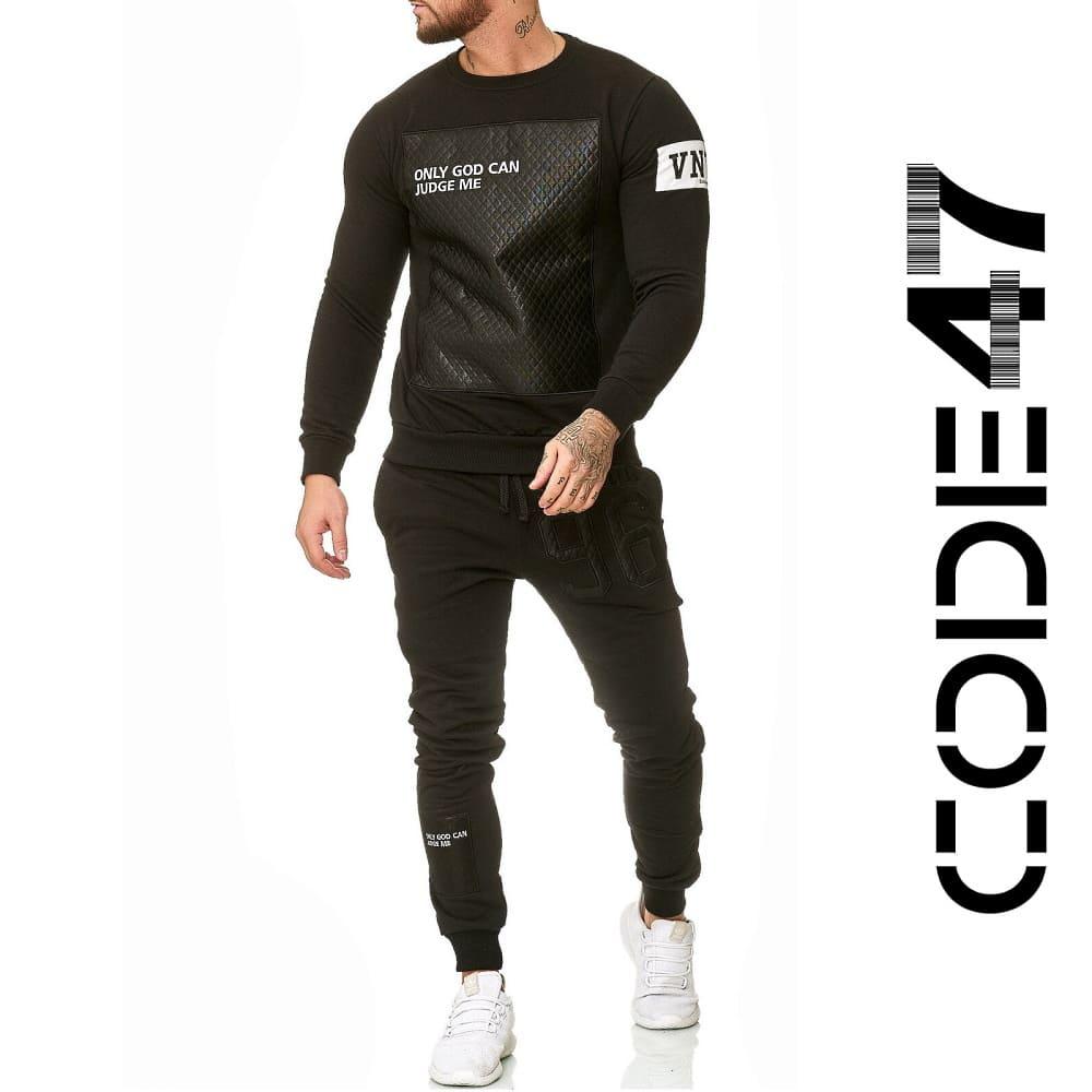 Спортивный костюм Code47 Shacur Black