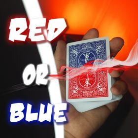 Карточный гиммик RED or BLUE - FLAP - флэп