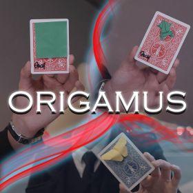 Карточный гиммик ORIGAMI (полуфлэп)