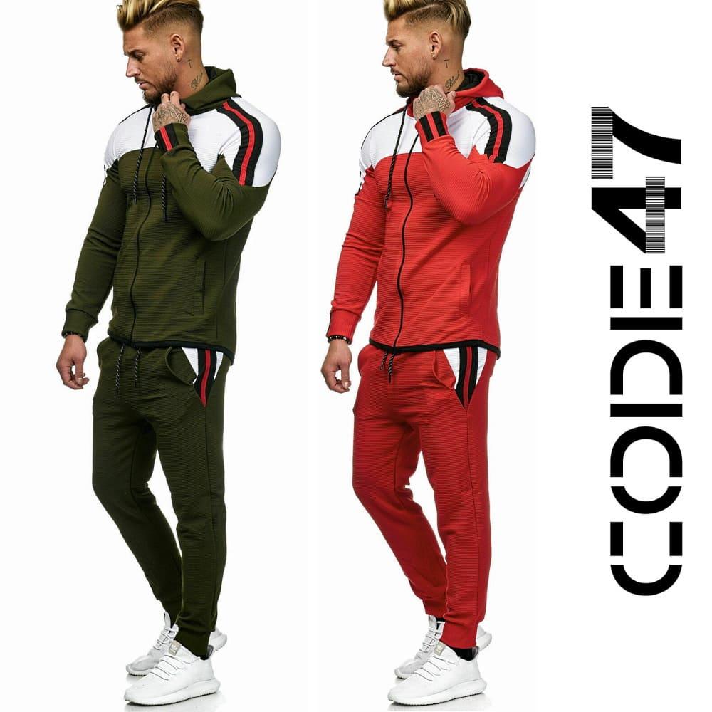 Спортивный костюм Code47 Red x Green