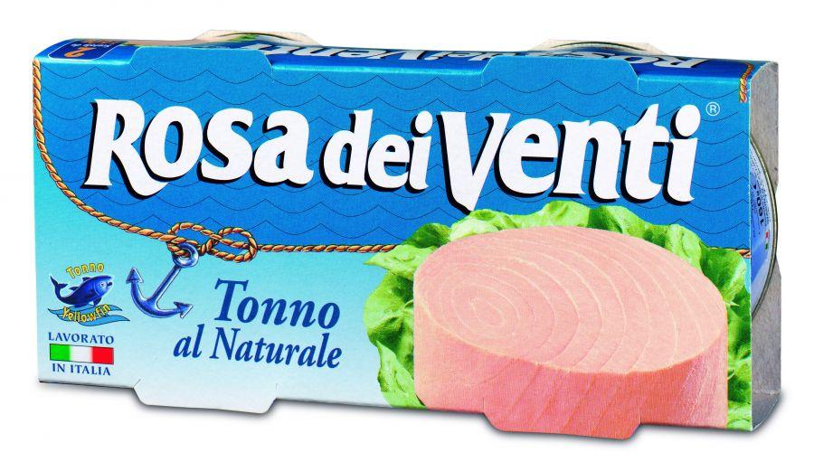 Тунец в собственном соку ROSA dei Venti, Callipo 160 гр