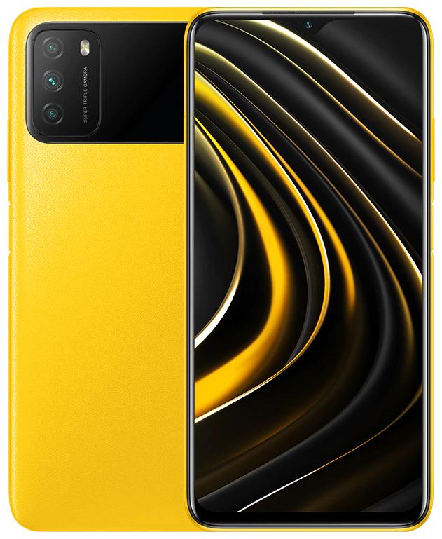 Смартфон Xiaomi POCO M3 4/64GB Жёлтый