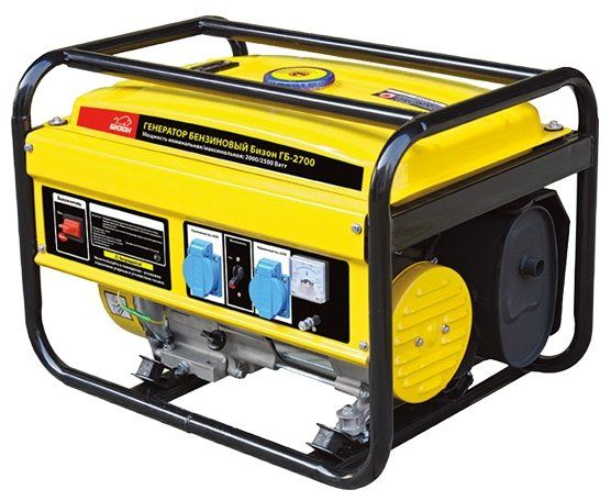 Бензиновый генератор Бизон ГБ-2700