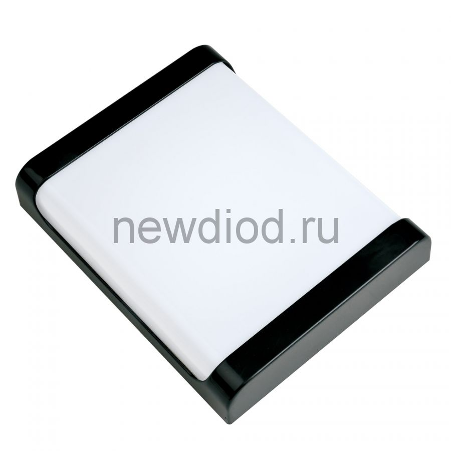 Светильник светодиодный влагозащищенный ULW-Q280 22W/4000K/S02 IP65 BLACK