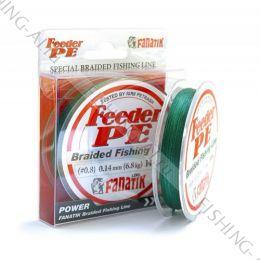 Плетёный шнур FANATIK Feeder PE X4 140 m (#0,8) 0,14 мм. GREEN