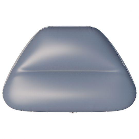 Сиденье надувное в нос лодки №5 80х47х29 см серое