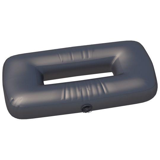 """Сиденье надувное """"овал"""" №2 74х44х20 см Черный"""