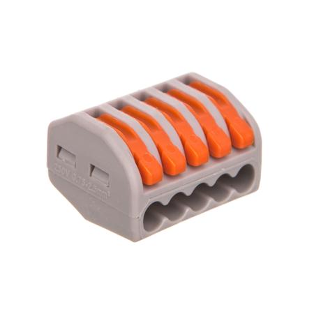 Соединитель WAGO 222-415 на 5 проводов (40шт)