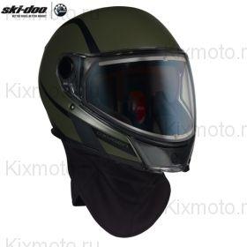 Шлем Ski-Doo Oxygen - Army Green (с подогревом)