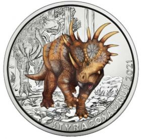 Стиракозавр  3 евро Австрия 2021 на заказ