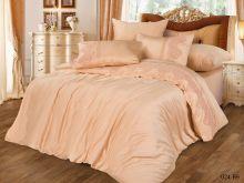 Комплект постельного белья Сатин Бамук с гипюром евро  Арт.31/024-BS