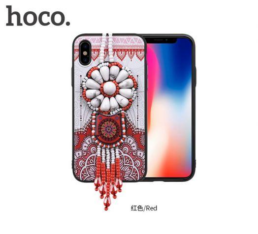 Защитный чехол HOCO Chinese dream для iPhoneX, красный