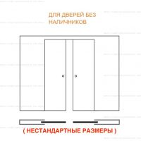Пенал Eclisse Syntesis Line Double для полотен до 3000 мм