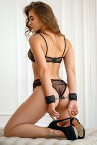 Наручники BDSM Арсенал My Rules велюровые черные