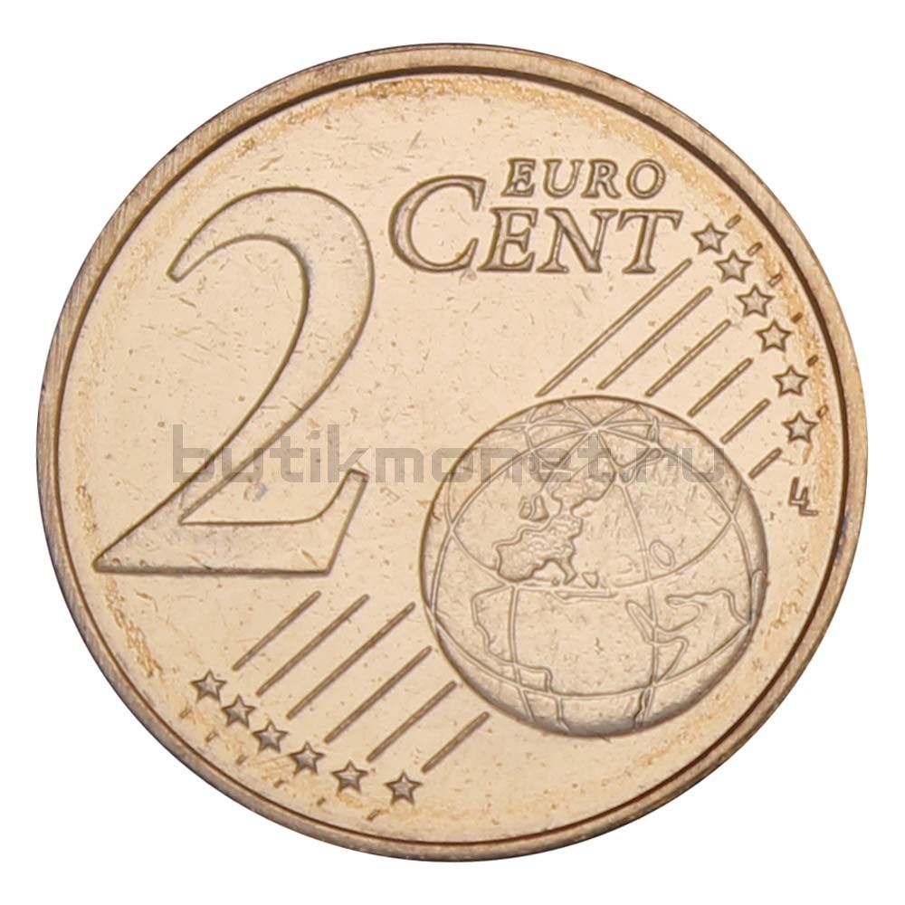 2 евроцента 2012 Эстония