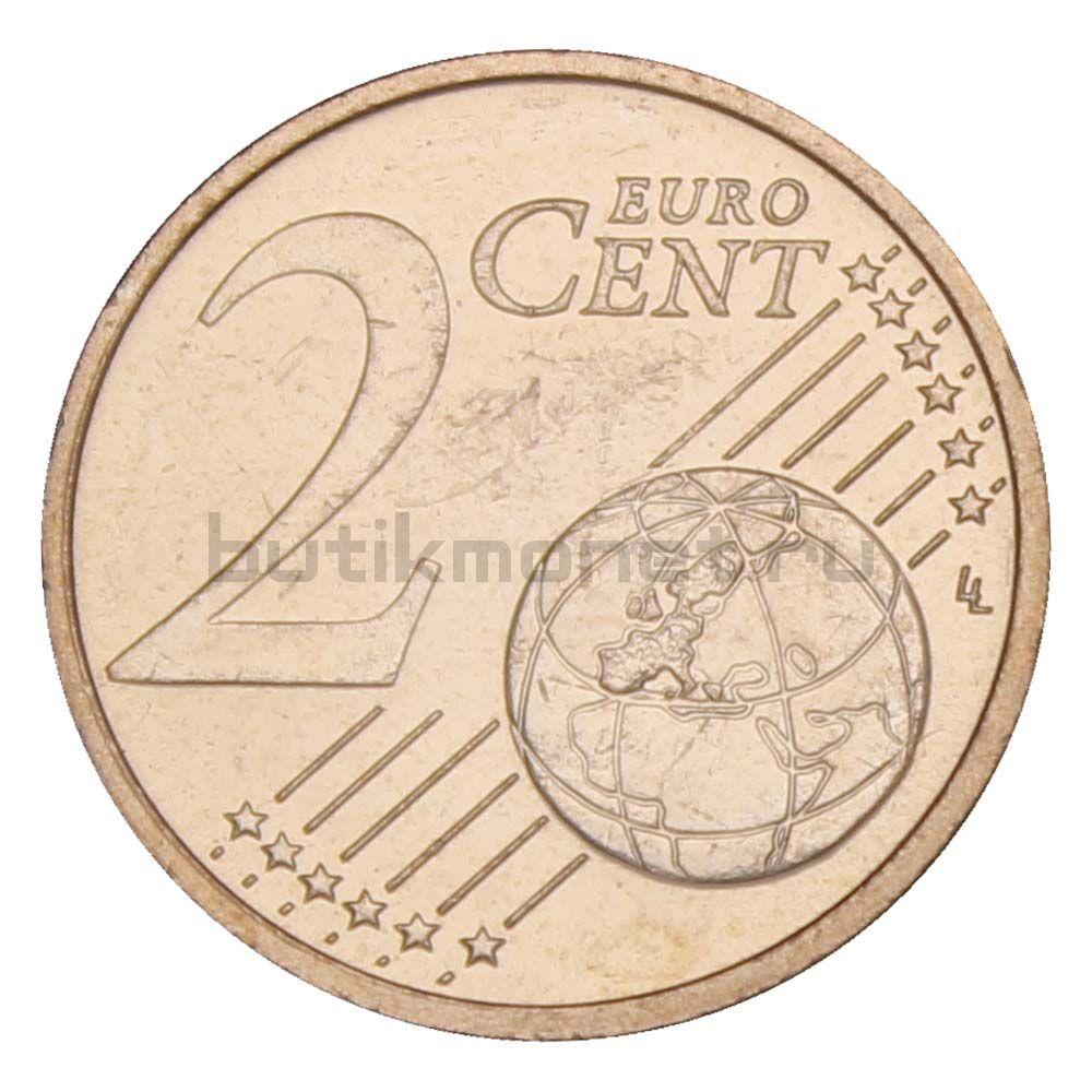 2 евроцента 2014 Латвия