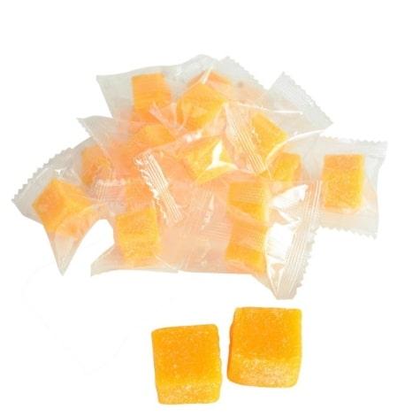 Конфеты из манго кубики, 500гр