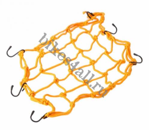 Сетка багажная оранжевая 30х30 см