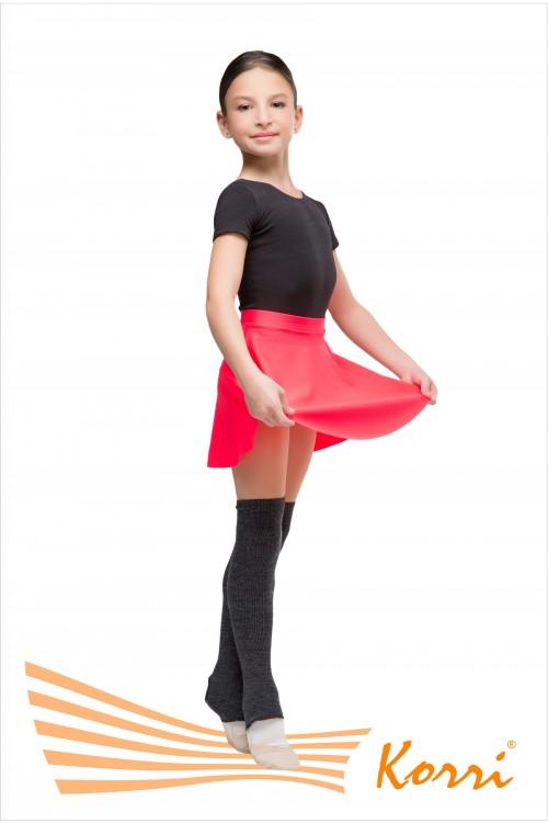 Гетры гимнастические для танцев чёрные, размер 60см.