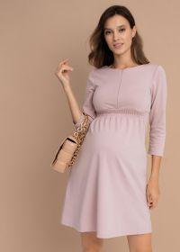 """Платье """"Алиша"""" для беременных и кормящих; пудра"""