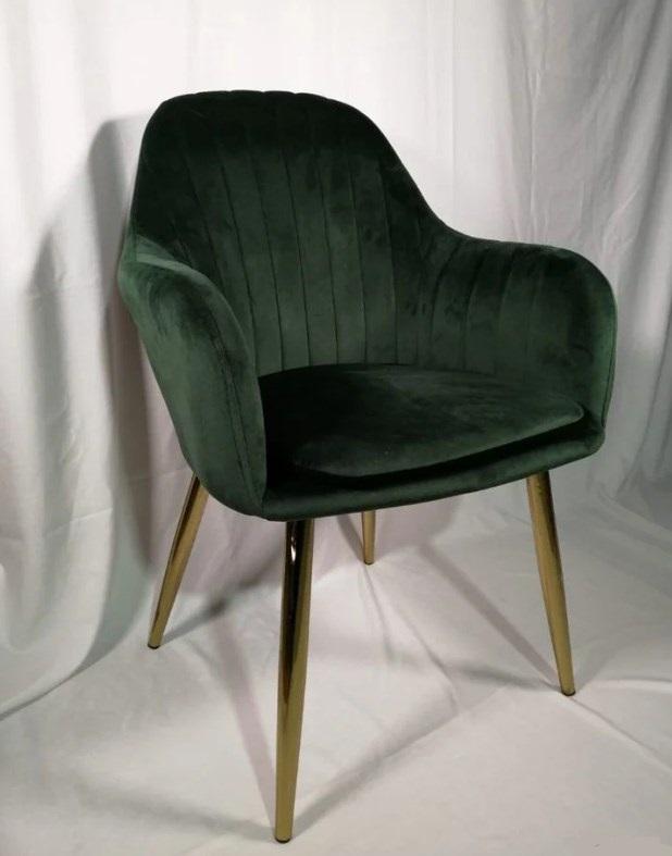 Кресло мягкое C-987 (ножки под золото)