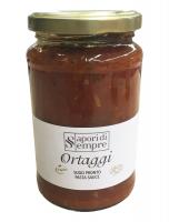 Соус овощной 340 г, Ortaggi sugo pronto Delikatesse 340 gr