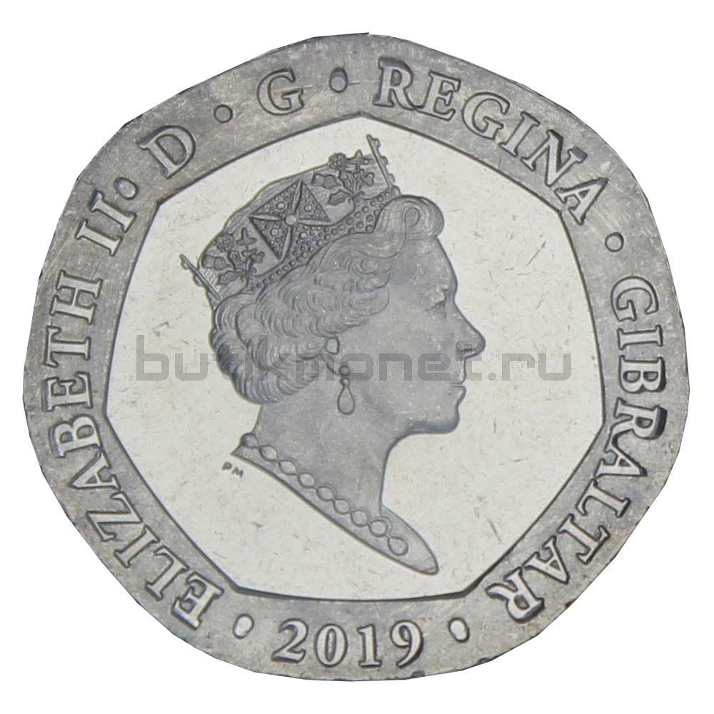 20 пенсов 2019 Гибралтар Островные игры