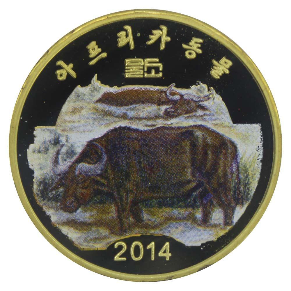 20 вон 2014 Северная Корея Буйвол