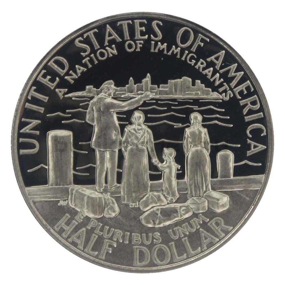 50 центов 1986 США 100 лет Статуе Свободы