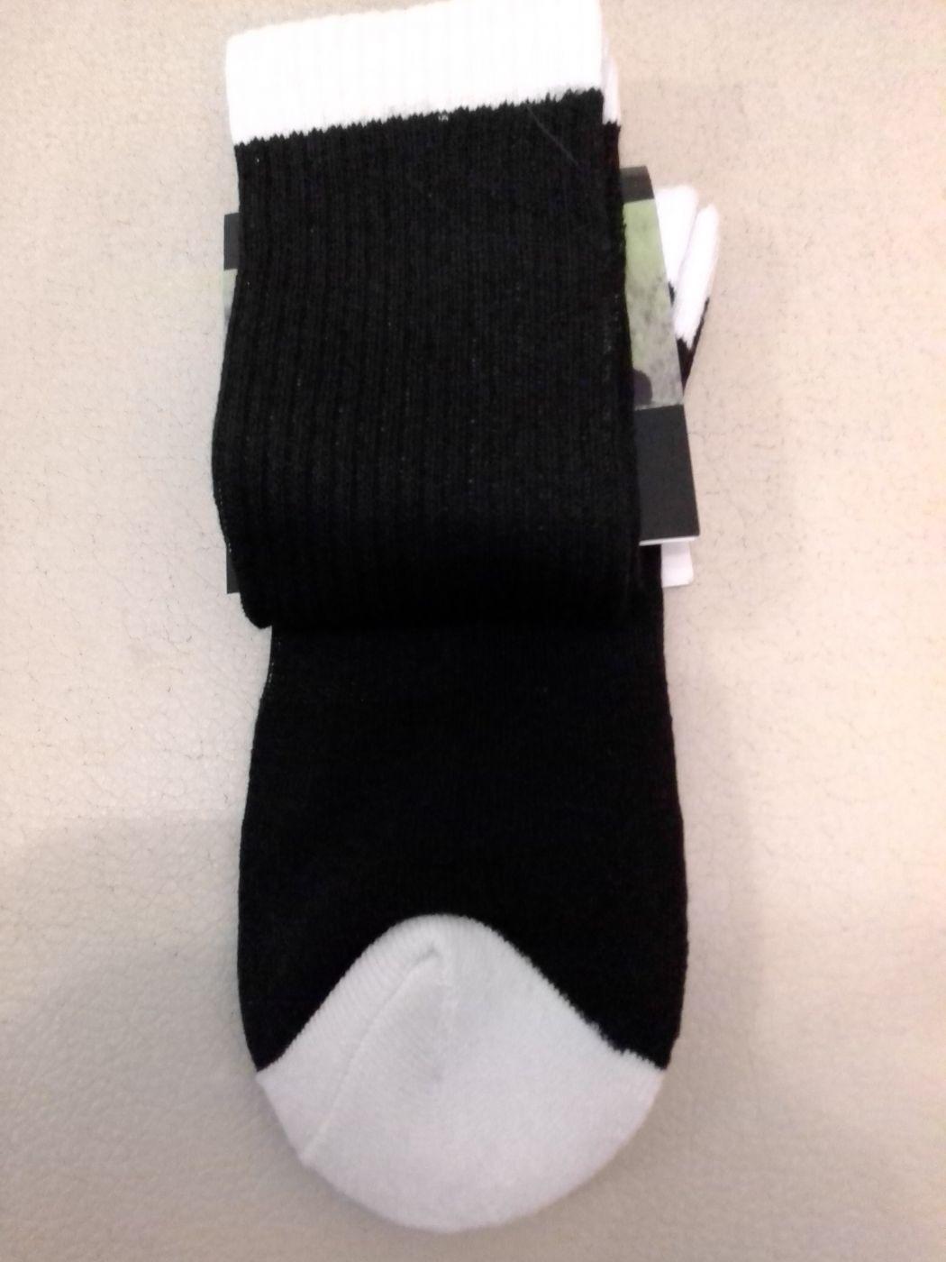 Носки спортивные (футбольные), чёрные, размер универсальный, артикул 16635