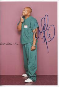 Автограф: Дональд Фэйсон. Клиника / Scrubs