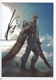 Автограф: Энтони Маки. Мстители, Сокол и Зимний Солдат