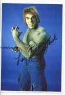 Автограф: Лу Ферриньо. Невероятный Халк 1977 г. / The Incredible Hulk
