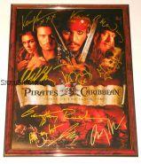 Автографы: Пираты Карибского моря: Проклятие Черной жемчужины. 8 подписей