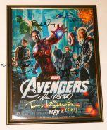 Автографы: Мстители / The Avengers, 2012. 8 подписей