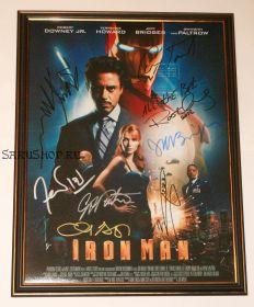 Автографы: Железный человек. 8 подписей
