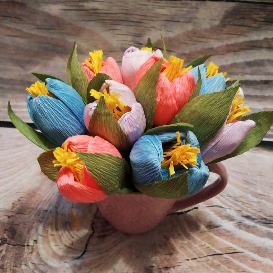 Композиция Весна! (конфетный букет)