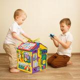 дети играют с бизибордом  Парковка