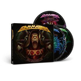 GAMMA RAY - 30 Years Live Anniversary [2CD/DVD DIGI]